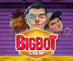 Quickspin's Latest Online Slots, Big Bot Crew, Live Now at Playtech Casinos