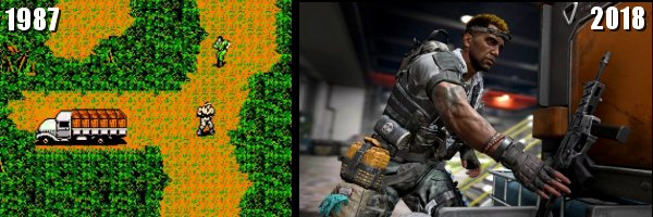 Evolution of Video Game Graphics