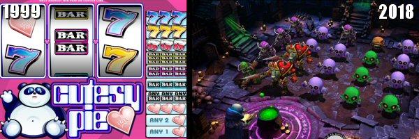 Evolution of Virtual Casino Games Graphics