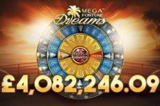 Mega Fortune Dreams Progressive Makes Lucky Brits' Dreams Come True