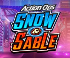 """Play the new Action Ops Snow & Sable Online Slots at Microgaming casinos. The future is now at Microgaming online casinos, where the high-tech crime-fighting duo of Snow and Sable are cleaning up the big city streets. Join the elite cyber agents as they employ complex gadgets to take on the perils of a fast-paced metropolis. The sci-fi online slots game comes from the development labs of Microgaming's exclusive partner, Triple Edge Studios. Packing a vibrant and futuristic punch, Action Ops: Snow & Sable hits the iGaming realm today, December 5, 2018. Utilizing the latest HTML5 technology, it's available for desktops, smartphones and tablets. David Reynolds, Games Publisher for the Isle-of-Man iGaming software group, commends Triple Edge for their latest release. """"Action Ops: Snow & Sable is another creation by Triple Edge Studios,"""" says Reynolds, """"hot on the heels of their previous title, Wicked Tales: Dark Red. Featuring Mixed Wild Pays, Stacked Wilds and Free Spins, players can jump into futuristic, sci-fi slot action with the daring duo. """"This high volatility game offers wins up to 1,000 times the initial bet with a potentially rewarding base game, complemented by a free spin experience that has a high theoretical average return and the ability to retrigger,"""" adds Reynolds. """"We look forward to unveiling more action-packed content from Triple Edge Studios in the coming weeks. Action Ops: Snow & Sable Online Slots Snow and Sable are a pair of high-tech hero femme fatales with a feline nature; a Cat Woman meets Starsky and Hutch kind of deal. Throw in the unrealistic waistline of Barbie, and the futuristic city-scape of The Fifth Element, and the Action Ops Slot is born. Triple Edge combines modern and retro elements with this title. Action Ops has a variety of interesting, new-age features and sci-fi graphics, but takes place on a classic 5x3 reel screen with just 10 paylines. The bet range scales from $0.10 to $100, with a max payout of 10,000 coins. Action Ops h"""