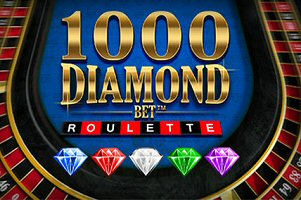 Play Jackpot Roulette Online with Playtech's 1000 Diamond Bet Roulette