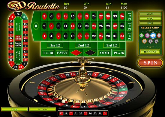 How to Play 3D Roulette Online with Red and Black Split Bets