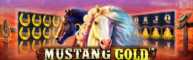 Online Slots Fans learn How the West was Won in Mustang Gold Online Slot