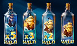 Unlock Ships Wilds in Pirates Plenty The Sunken Treasure Slot