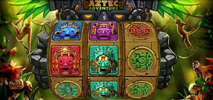 Aztec Adventure Slot by BF Games Classic 3 Reel Slot with Free Spins and Wilds