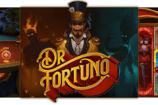 Dr Fortuno Blackjack and Video Slot at Yggdrasil Casinos