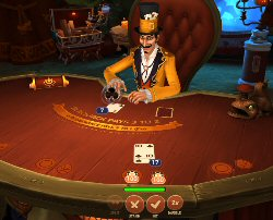 Dr Fortuno Blackjack by Yggdrasil Gaming