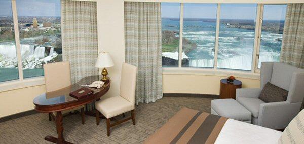 Horseshow Fallsview room at Fallsview Casino Resort Hotel in Niagara Falls, Ontario, Canada