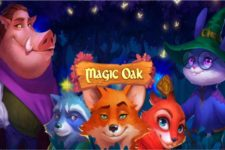 Spin the 4x4 Reels of Habanero's new Sci-Fi Fantasy Slots, Magic Oak