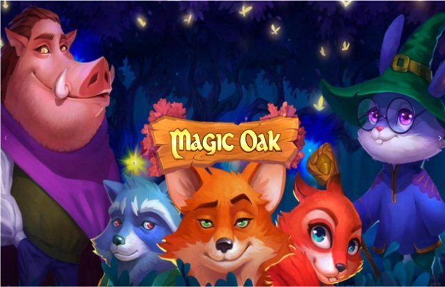 Spin the 4x4 Reels of Habanero's new Sci-Fi Fantasy Slots Magic Oak