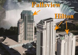 Fallsview Casino Hotel vs Hilton Niagara Falls Hotel