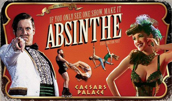 Absinthe at Caesars Palace Las Vegas 2019