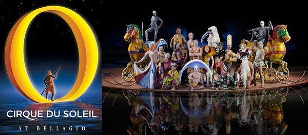Cirque Du Soleil at The Bellagio Las Vegas 2019
