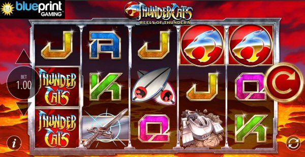 ThunderCats Online Slot Machine by Blueprint Gaming