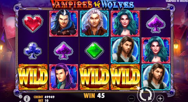Review of Vampires vs Wolves Slot by Pragmatic Play
