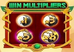 Dragons Lucky 8 Variable Win Multipliers