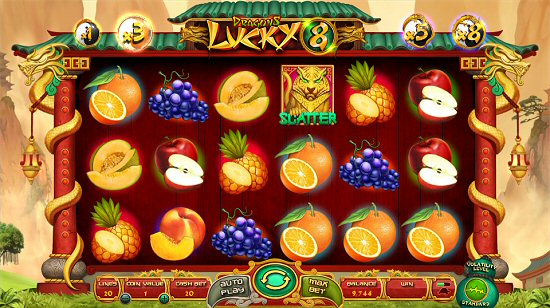 Wazdan Infuses All Popular Online Slots Themes into Dragons Lucky 8