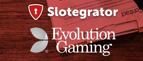 Slotegrator adds Evolution Live Dealer Casino Games to APIgrator Platform