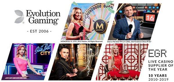 Flutter and Evolution sign Live Casino Deal