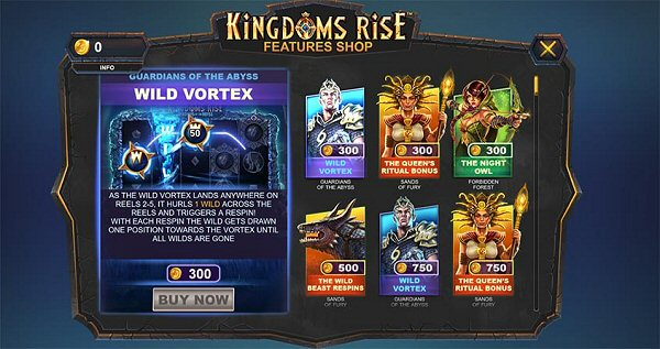 Kingdoms Rise Feature Shop