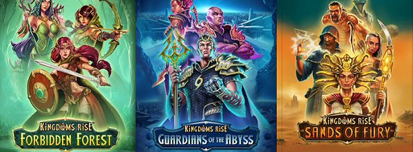 Kingdoms Rise Slots: Immersive and Rewarding New Slot Series from Playtech
