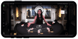 Live Perfect Blackjack by NetEnt