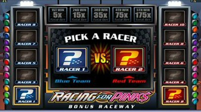 Racing for Picks Slots by Microgaming