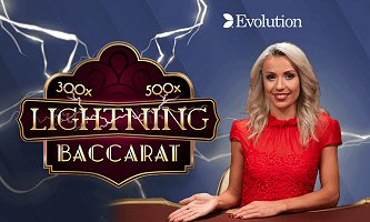 Live Lightning Baccarat: The Latest Multiplier-Striking Game by Evolution