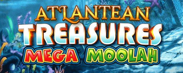 Atlantean Treasure Mega Moolah Jackpot Slot