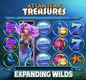 RNG Online Casino - Microgaming's Mega Moolah Slot Atlantean Treasures