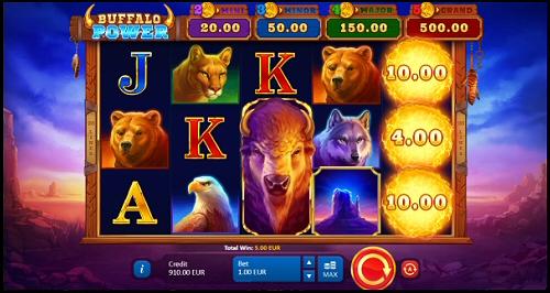 Playson Buffalo Power: Hold and Win Slot