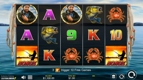 Extreme Fishing Slot by Lightning Box Games