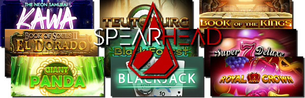 New Casino Games from Spearhead