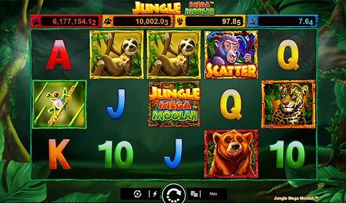 Unibet Welcomes Mega Moolah Jungle Progressive Slot