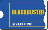 Blockbuster Card Sticker