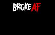 Broke AF Credit Card Skin