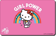 Hello Kitty Debit Card Skins