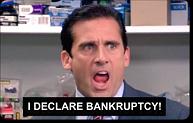 I Declare Bankruptcy Credit Card Skin